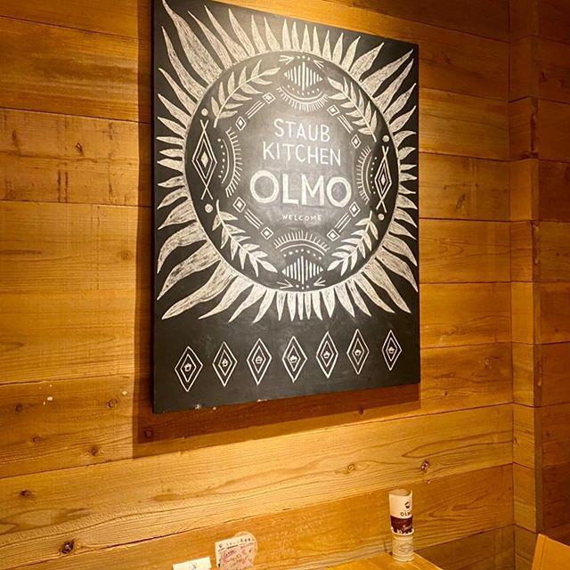 【 チョークアート 】スタッフYちゃんのCASA黒板シリーズ。「ストウブキッチン オルモ」さんの店内看板、いつもご依頼いただきありがとうございます!