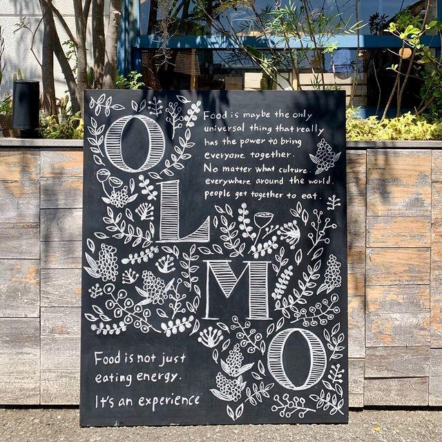 【 チョークアート 】スタッフYちゃんのCASA黒板シリーズ。「ストウブキッチン オルモ」さんの店内看板を描かせていただきました。