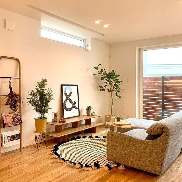 【 CASAコーディネート例 】浅井良工務店さんの物件にて、家具や雑貨などのインテリアコーディネートをさせていただきました。『家族が見渡せるLDKにワークスペースがある家』